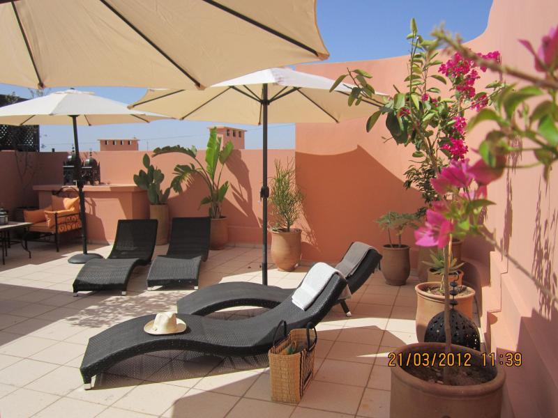 MAJORELLE TERRASSE SOLARIUM PISCINE, Ferienwohnung in Marrakesch