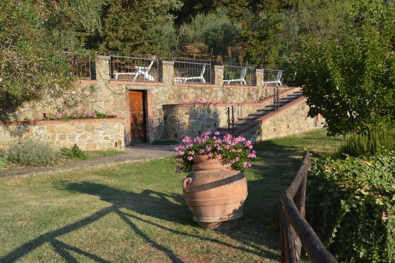 Nido d'Aquila, holiday rental in Villa Basilica