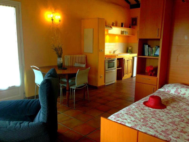 Studio Lavande au coeur de la Provence, location de vacances à Pourrieres