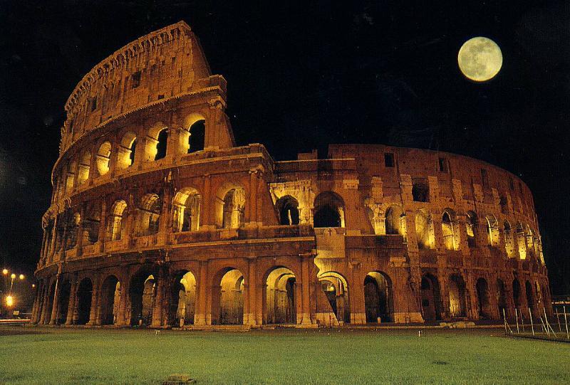El corazón de la antigua Roma, el Coliseo, los Foros Imperiales, el Ludus Magnus y la Domus Aurea ...