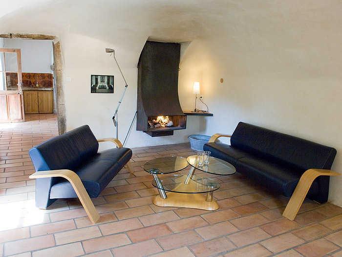 A sala de estar de Aujac