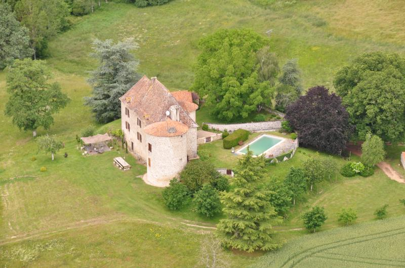 Beautiful and Quiet 9th century Castle Perigord, vacation rental in Piegut-Pluviers