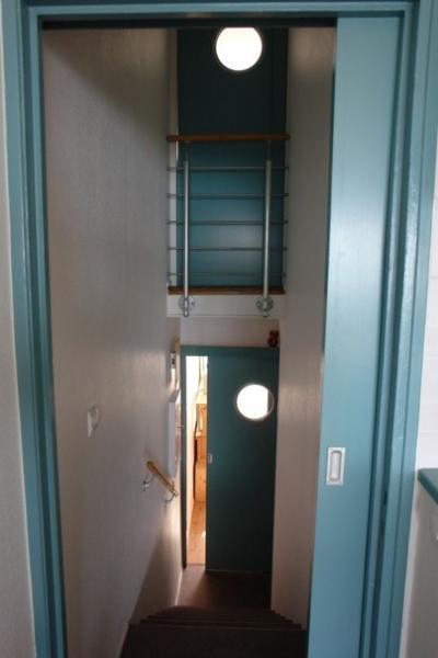 escadaria interior Retail