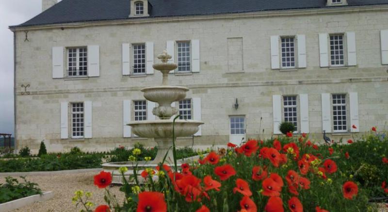 Le Château des Coudreaux et son jardin à la Française