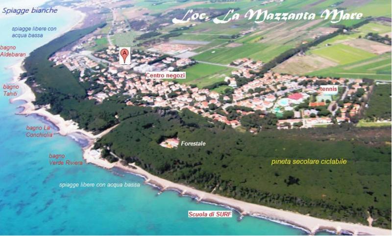 panoramica della Mazzanta