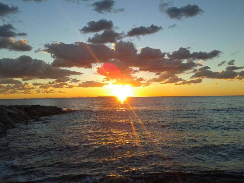 splendidi tramonti sulle nostre spiagge