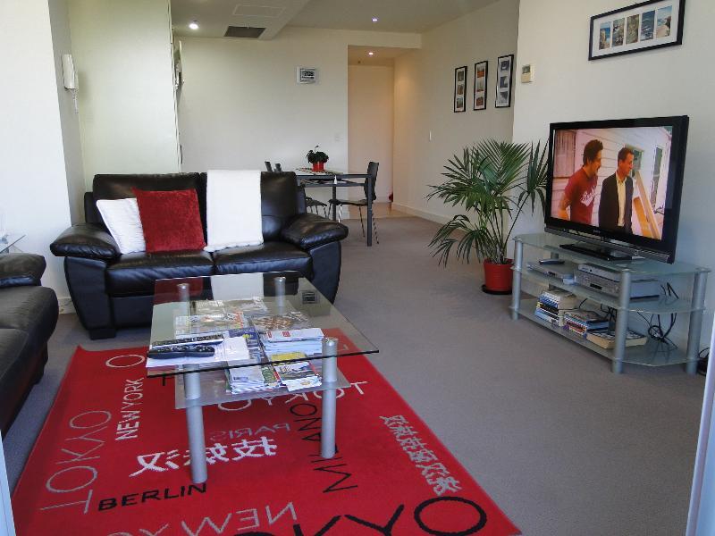 Open kitchen-living room
