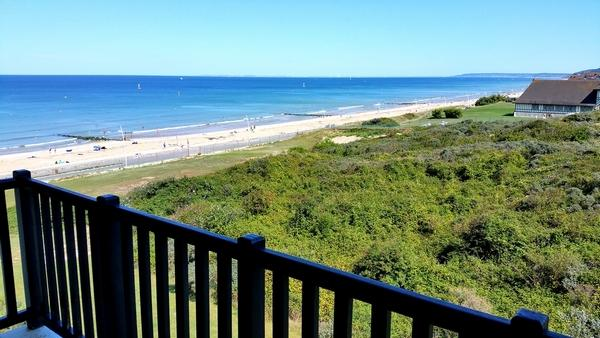 Appartement avec vue imprenable sur mer et foret, vacation rental in Cabourg
