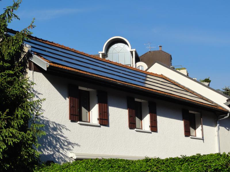 nos panneaux solaires couvrent nos besoins en électricité