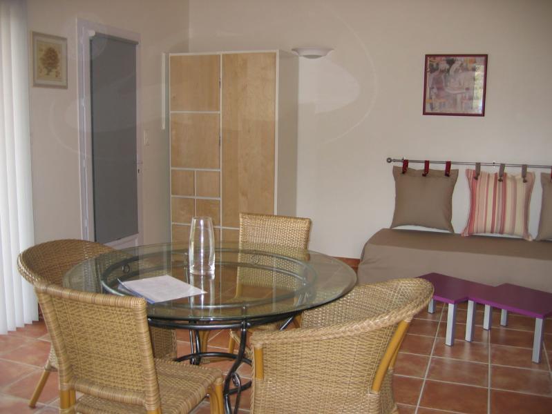 Les Villas de Lava 3*.D Mini-villa 2 pièces Dune.Charme, Golfe de Lava, vacation rental in Appietto