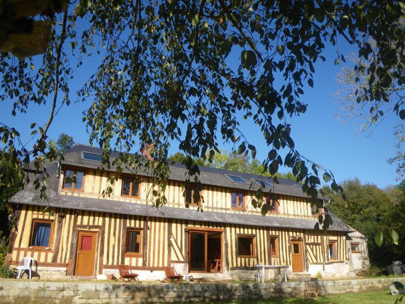 Gîte du Lieu des Haies / 10-12 personnes, location de vacances à Saint-Loup-de-Fribois