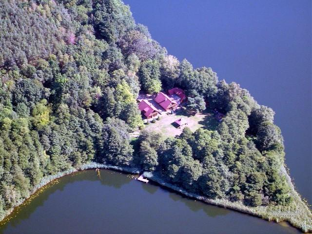 Aerial view of Anglo-Polish Holidays Holiday's Rental property 'Chycina 24'