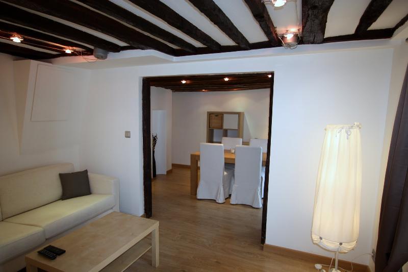 BEAUTIFUL två sovrum APPARTEMENT helt nya, mycket soligt och lugnt exceptionella i PARIS