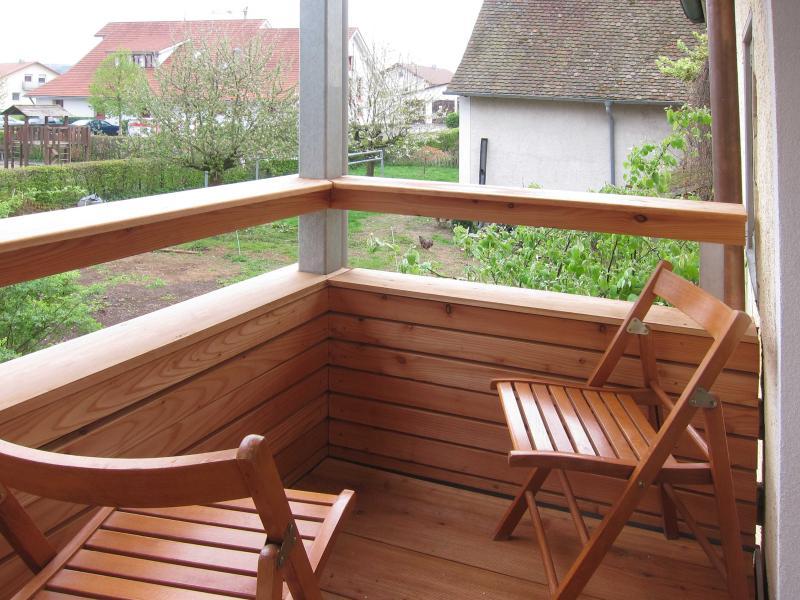 3 Zimmer Ferienwohnung, eigener Eingang u Garten, location de vacances à Bad Saulgau