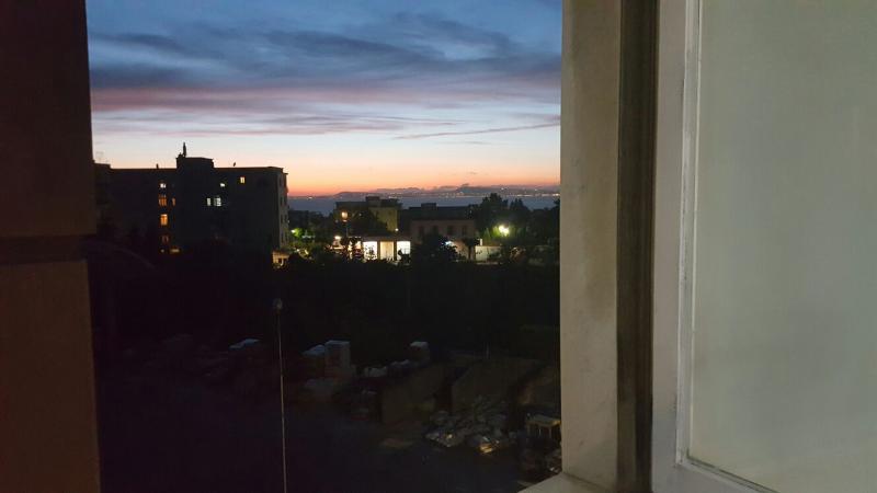 Vista finestra camera da letto