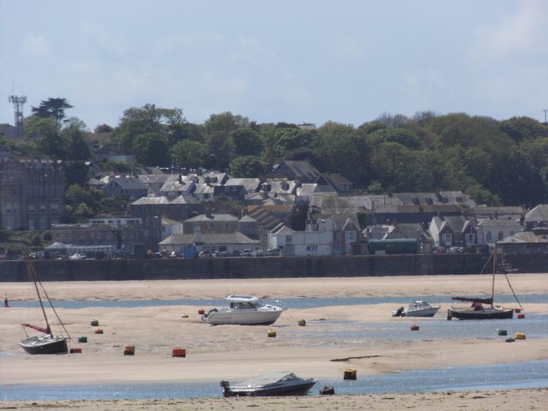 Padstow at low tide