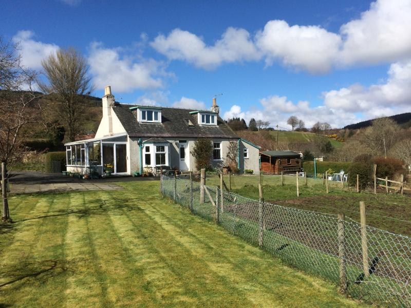 Wonderful Arran cottage near all amenities and with open outlook.