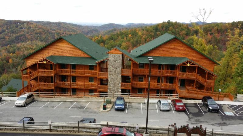 Westgate Smoky Mtn. Resort's newest units on top of the mountain