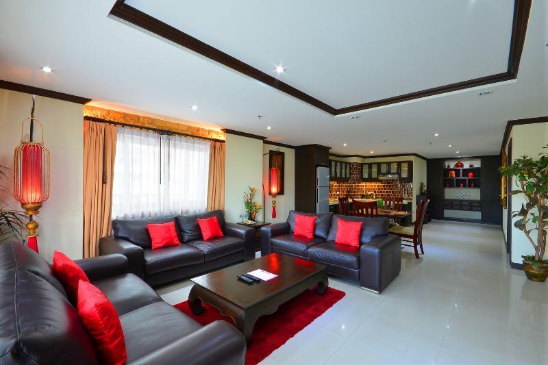Enorme woonkamer