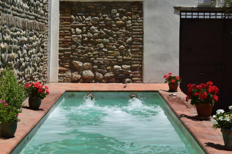 traditional pool.