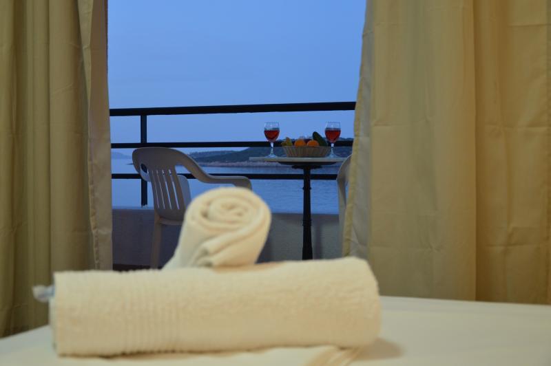 Studio Apartmet 20 sq.m.  big balcony with incredible sea view!