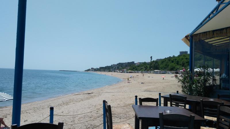 View from BM sea food restaurant near by Kabakum sea view beach apartment
