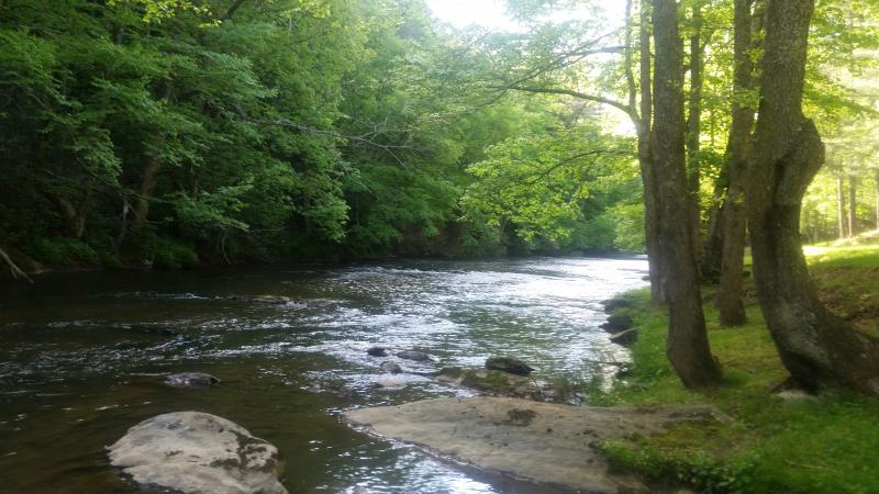 The beautiful little River for fishing,  canoeing or tubing.