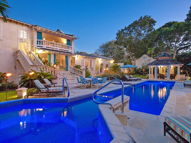 Grendon House, Sandy Lane, St. James, Barbados, holiday rental in Sunset Crest