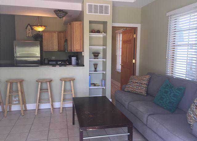 Buzz Living Room Looking Into Kitchen
