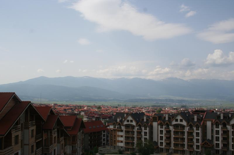 View from family room looking over Bansko