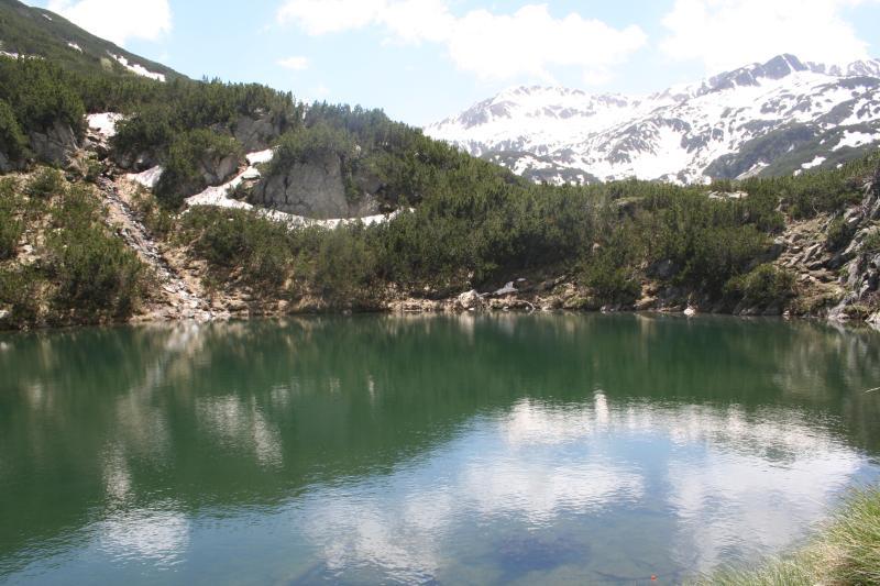 Lake Okomo in the Pirin mountains