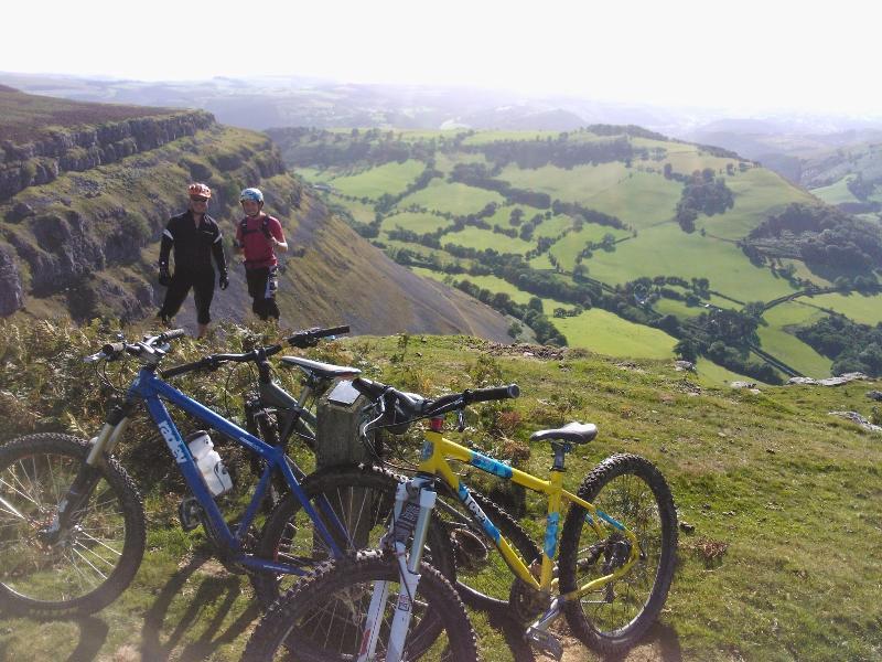 Great single track trails. Mountain biking. Llangollen