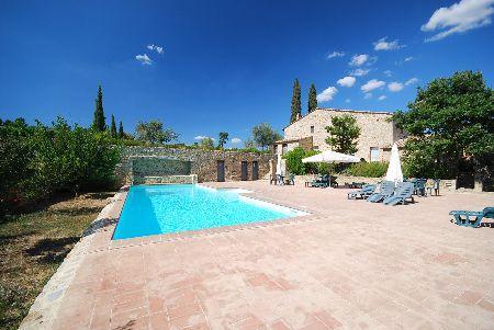 4 bedrooms apartment Podere La Casa - Loggia, holiday rental in Montalcino