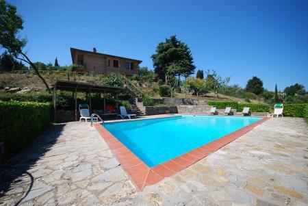 Holiday villa with pool CASA MARAVILLA, location de vacances à Vagliagli