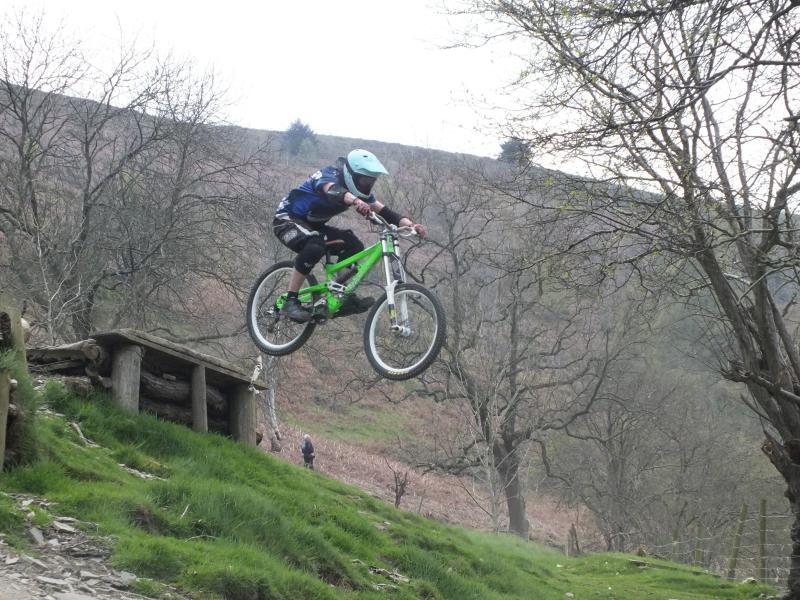 Llangollen downhill track