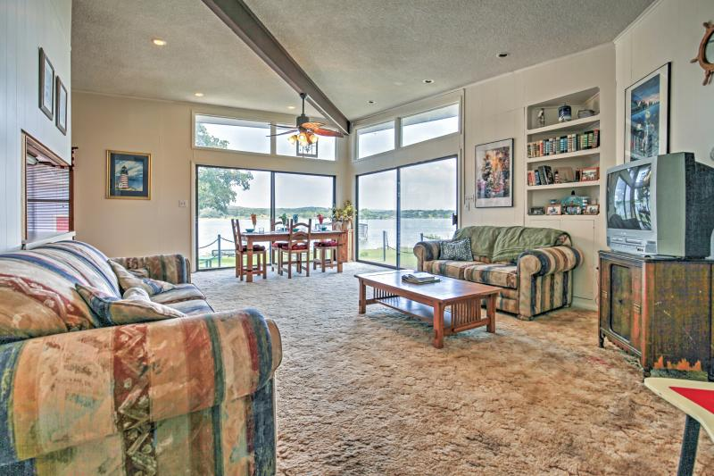 Look no further! This secluded Highland Lakes rental home is the perfect setting for your next Texas retreat.