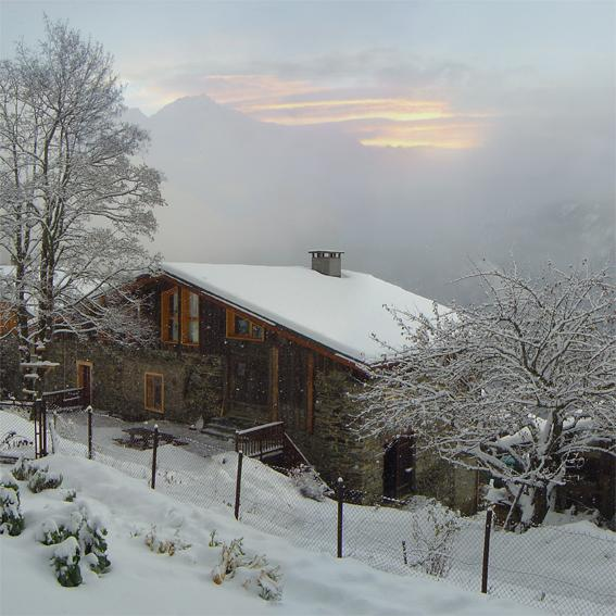 Chalet l'Ours Blanc, vacation rental in Bozel