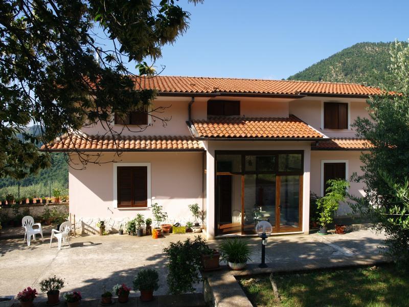 Villa Lavinia zona superiore