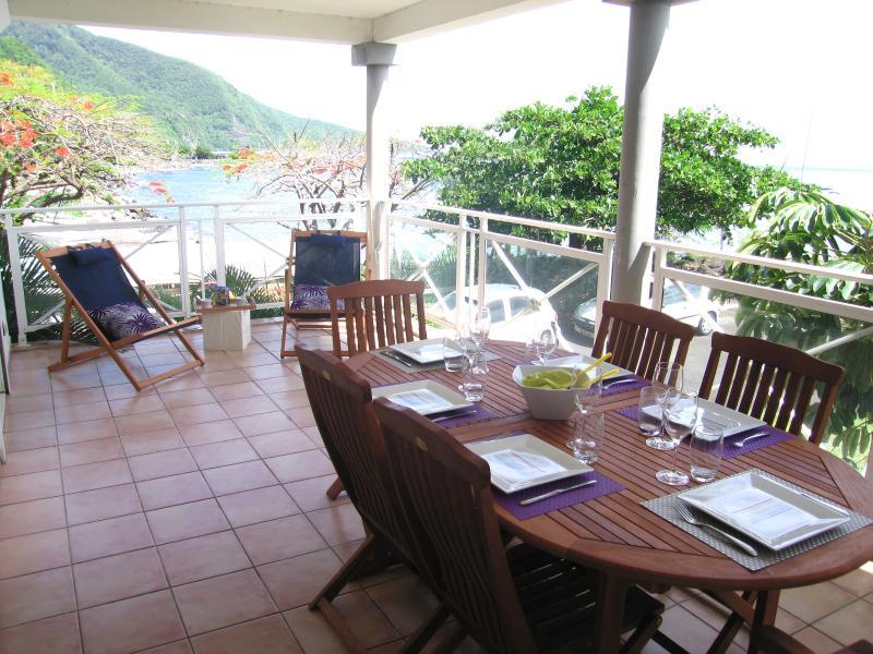 Appartement vue mer, résidence avec piscine, holiday rental in Vieux-Fort