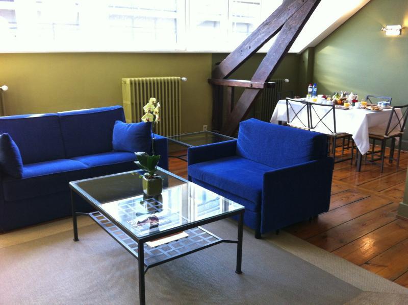 Splendid 1-Bedroom Flat in European District, holiday rental in Tervuren