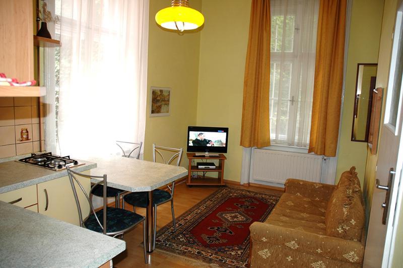 Kamil Apartments, Kolonada, 35m2, alquiler de vacaciones en Marianske Lazne