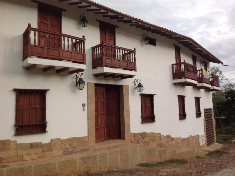 Casona de El Retiro el mejor sitio para disfrutar su estancia en Barichara el pueblito más lindo.