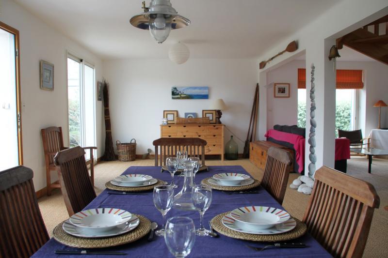 maison bord de mer à Sainte Marine, location de vacances à Sainte-Marine