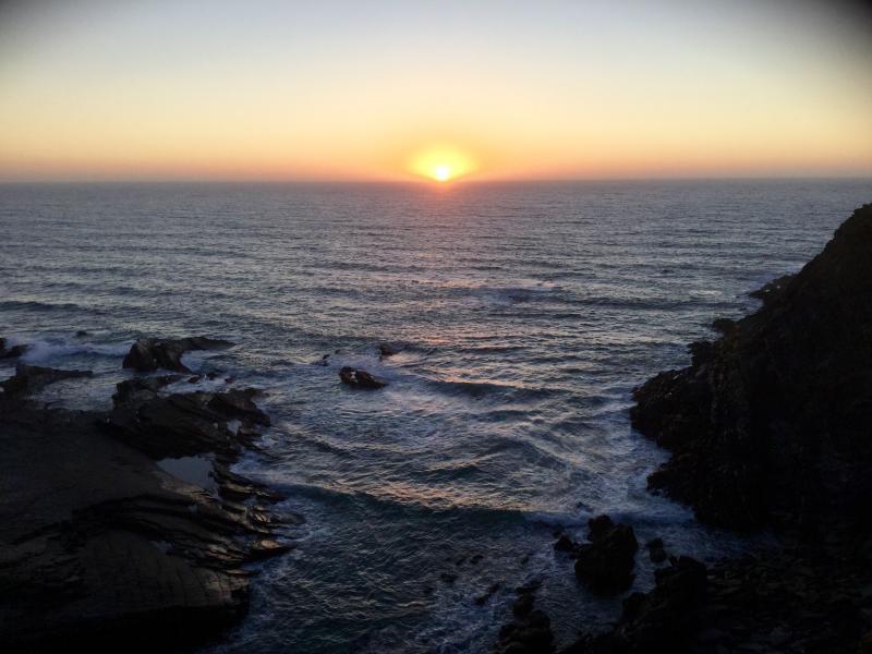 Sunset at Laginha