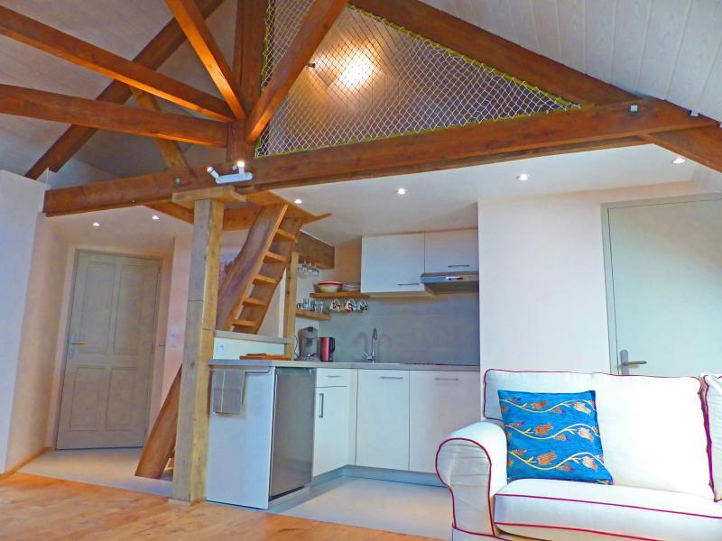 Loft 'Jersey' 900 m plage Normandie, holiday rental in Regneville-sur-Mer