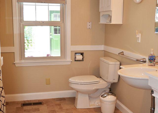 First floor bathroom.