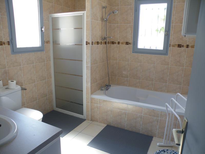 Bathroom on the ground floor (Italian shower, bath, double sink and additional toilet