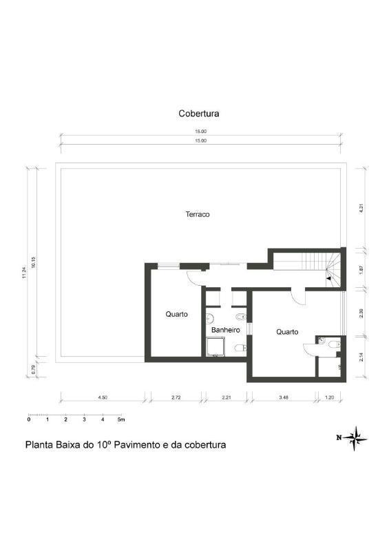 Floor plan: Level 2 - 11th floor