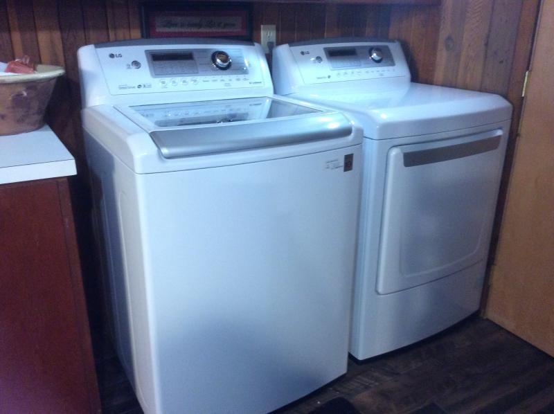 Nieuwe HG wasmachine en droger voor uw gebruik
