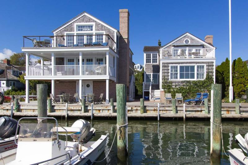 View of house from Docks
